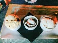 Trio of Ice Cream