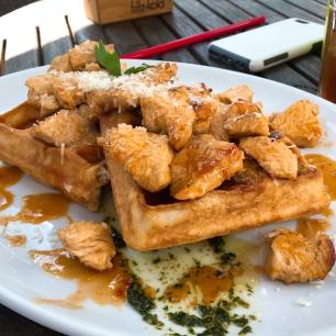 Hot Chicken Waffle